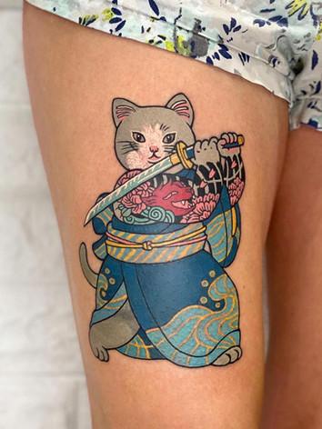 Samurai Kitty