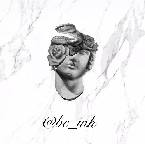Greek Rose Head
