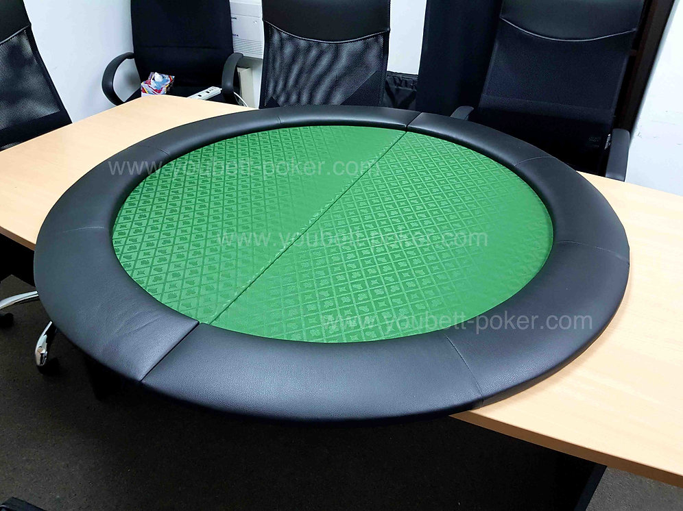 Folding Round Table Top.2 Fold Round Poker Table Top