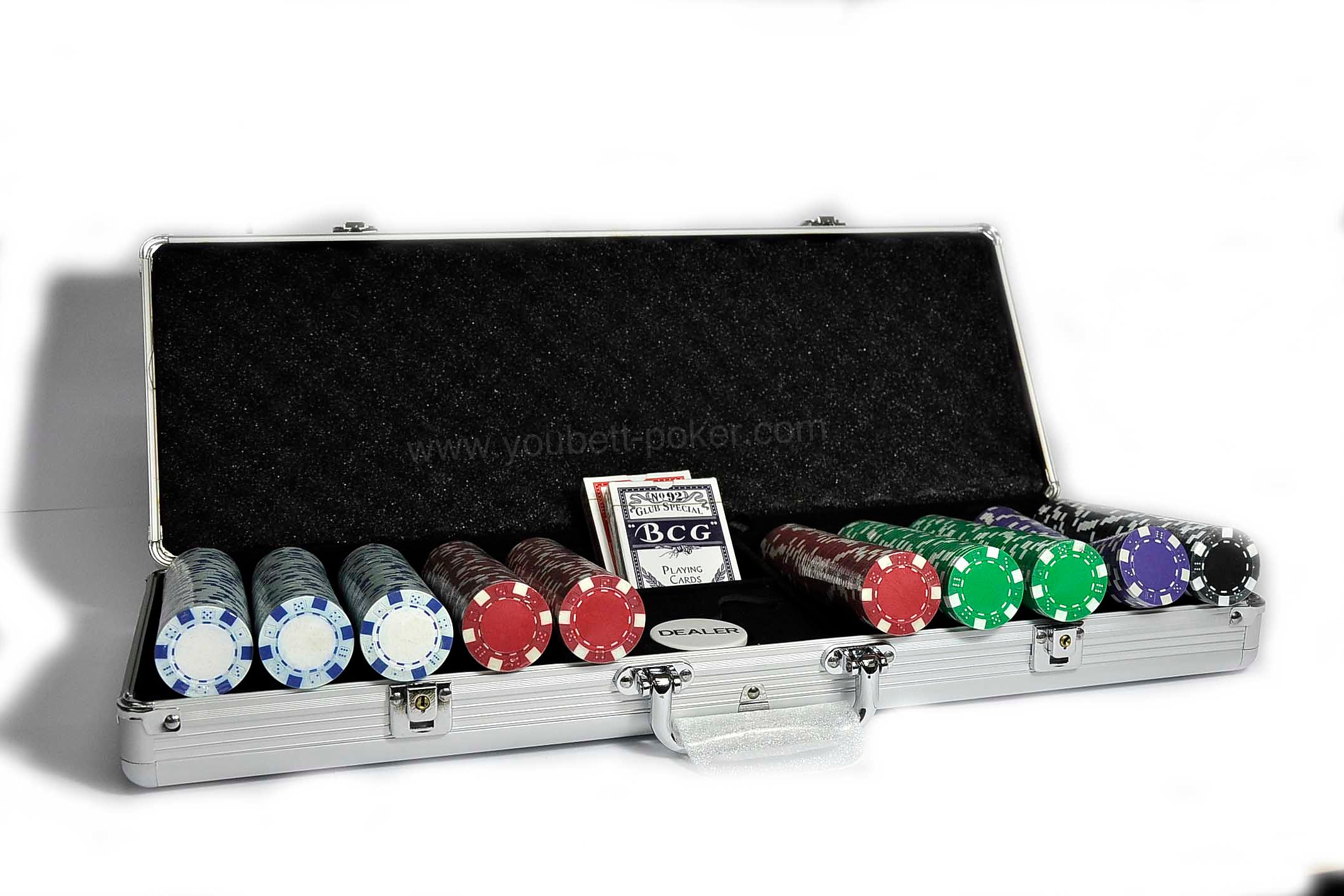 500 strip dice poker chip set - Poker Chips Set