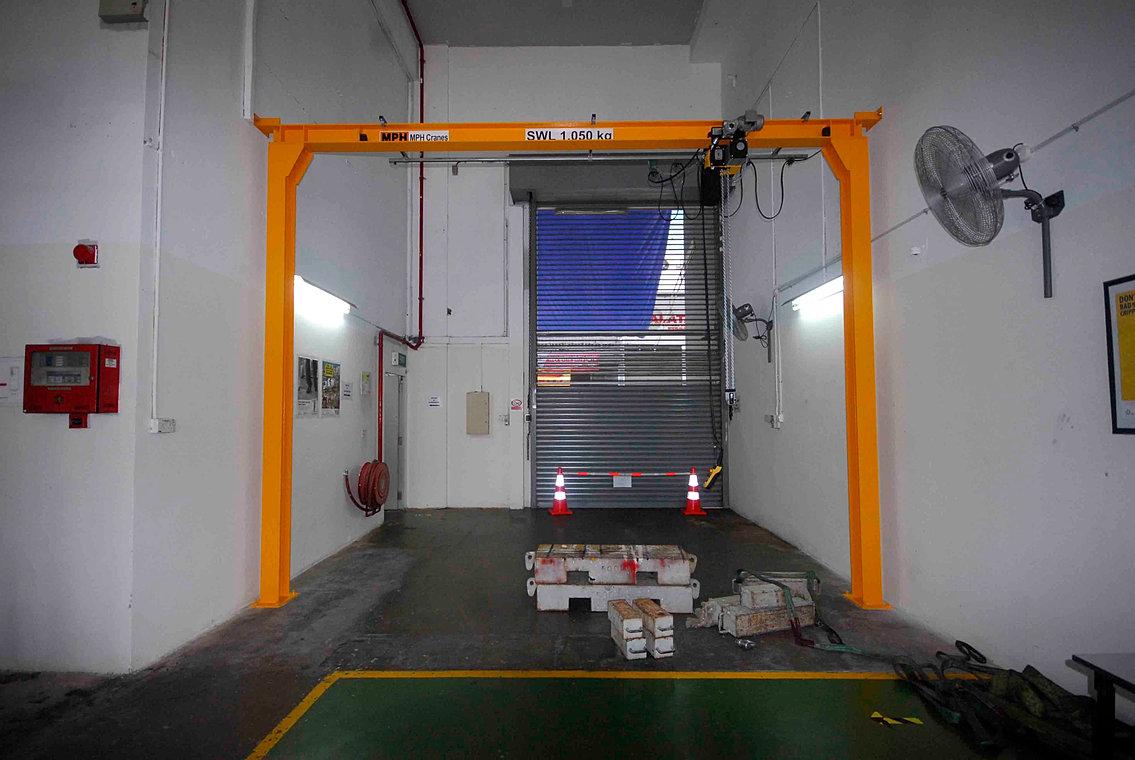 Overhead Crane Singapore: Jenmon singapore indonesia and india
