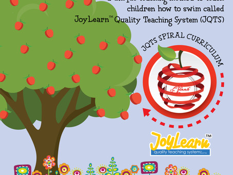 In Finns Boutique Swim Centre, we use a unique teaching curriculum called JoyLearn™ (JQTS)