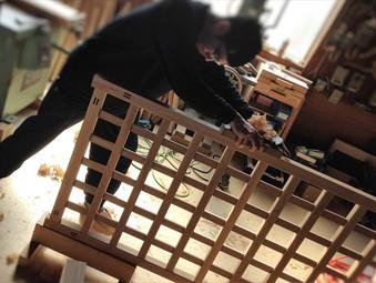 炬燵櫓の製作