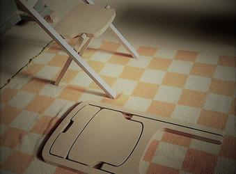 ロシアン白樺の折り畳み椅子の製作