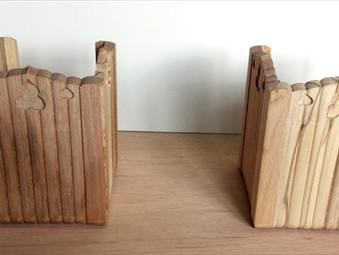 木製根巻き金物の製作