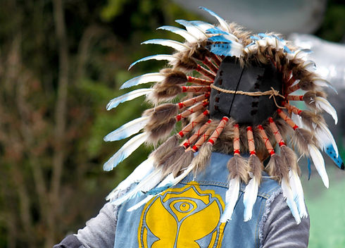 Nativní americký kostým