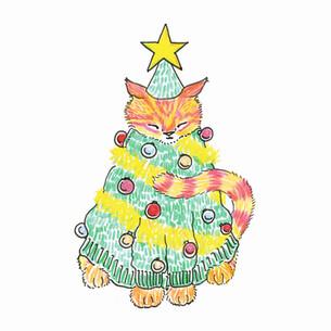 christmas-tree-ginger-cat-abby-hobbs-201