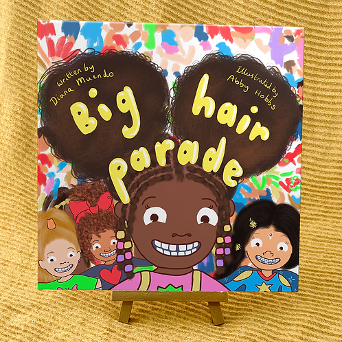 Big Hair Parade Children's Picture Book