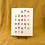 Thumbnail: Animal Alphabet Giclée Art Print