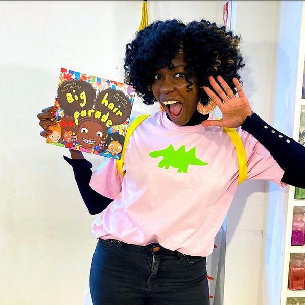 diana-dressed-as-aisha-on-world-book-day-2021