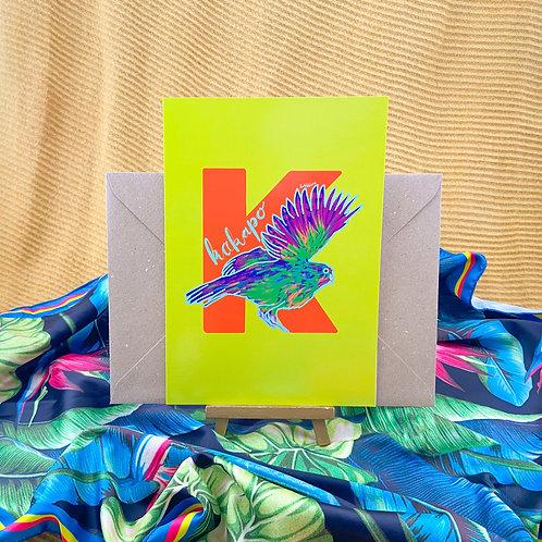 Illuminated Animal Alphabet Greeting Cards