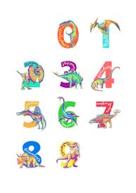 dino-illuminated-numbers-poster-2020-abby-hobbs