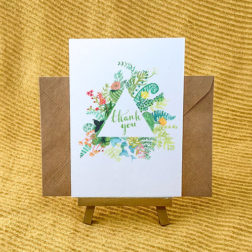 Thank You Flower Cards