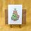 Thumbnail: Christmas Cat Greetings Card