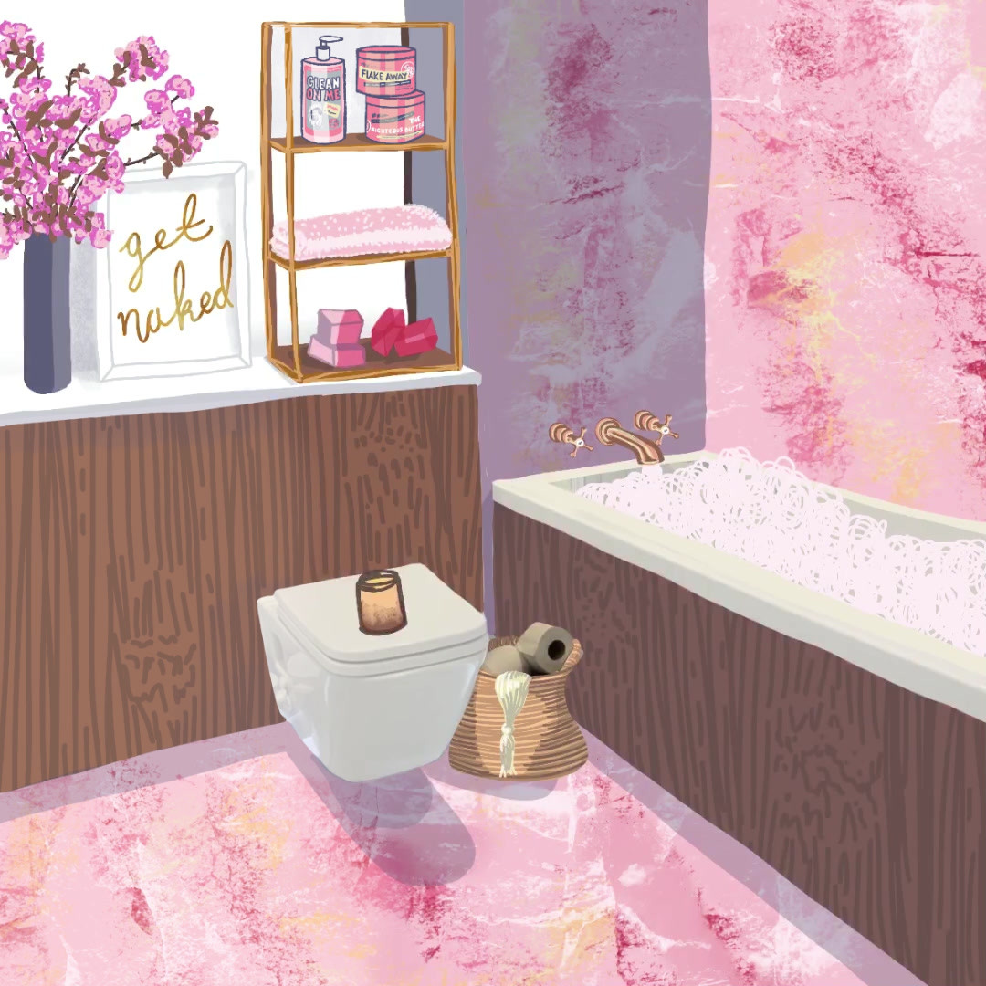 pink-marble-bathroom-soap-and-glory-vide