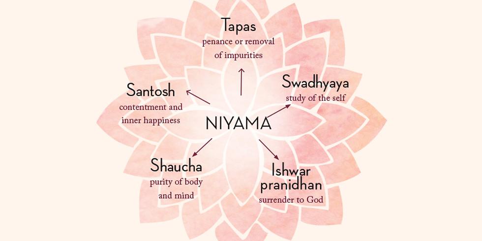 Yoga Beyond the Mat - Niyamas