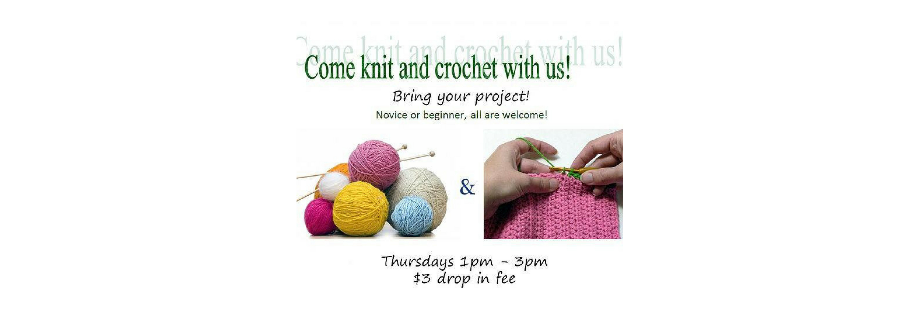 Knitting & Crocheting Group