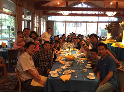 Farewell party with Prof. Yang Yang