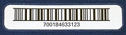 Barcode Label for CleanRoom Apparel