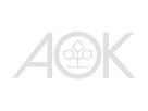 AOK logo weiss mit transparent backgroun