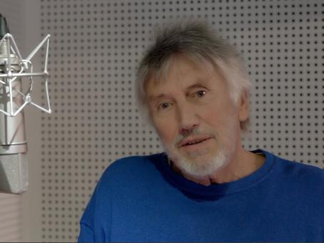 Filmen in der Synchronsprecher Box mit Christian Brückner