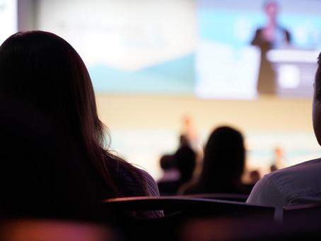 Zahlreiche Möglichkeiten, einen Keynote Vortrag zu filmen und in der Post-Produktion aufzuarbeiten