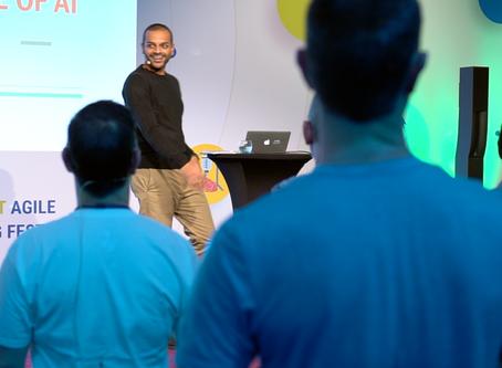 Keynote presentation for Speaker filmed