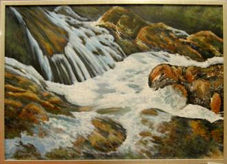 Impresie vody 9 70x50cm