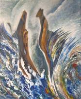 Impresie vody 5 60x73cm