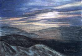 Západ slnka 2 42x31cm
