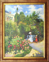 Monetová záhrada 55x70cm