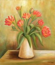 Kytica tulipánou 46x55cm