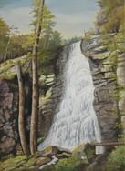Detvianský vodopád 50x70cm