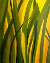 Svetlo v tráve 42x52cm