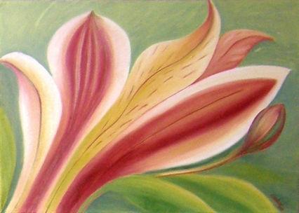 Kvety a detaily kvetov,ruže, kálie,slnečnice, malba olejom.