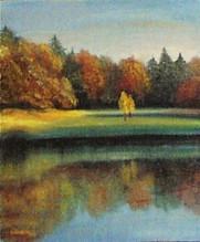 Jeseň pri jazere 3 40x50cm