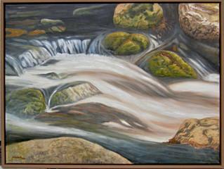 Kameň a voda 1 80x60cm