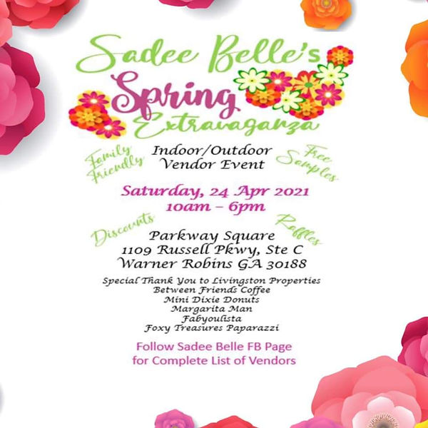 A Spring Event Flyer