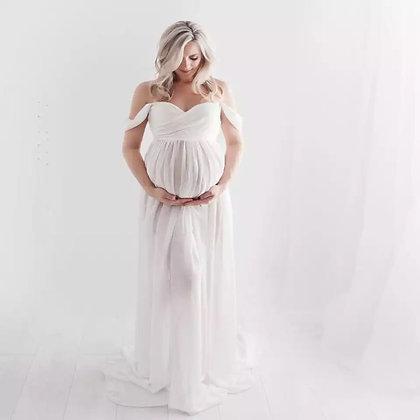 Vestido para sesión maternidad