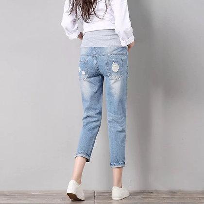 Jeans boyfriend light blue