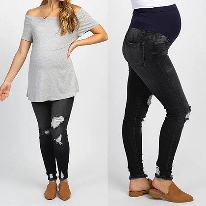 Jeans stretch negros