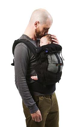 Portabebe ergonómico Physiocarrier by Je porte mon bebe negro bolsa negra