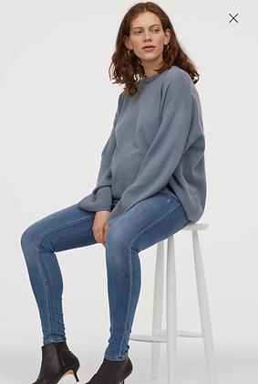 Jeans skinny con elástico para el abdomen
