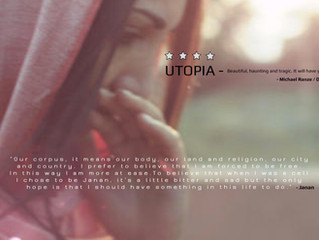 Utopia-Beautiful, haunting and tragic.