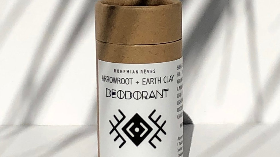 Arrowroot & Earth Clay Deodorant
