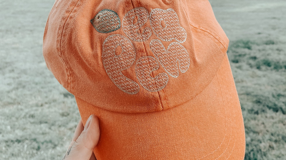 Peachy Dad Hat