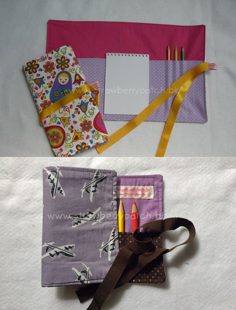 Notepad Roll & Crayon Roll