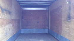 inside view of storage container