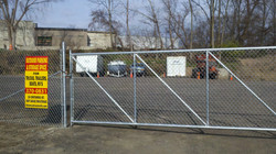 gated outdoor parking and storage