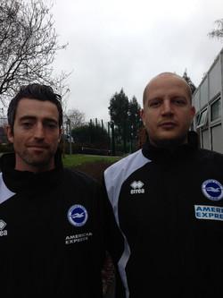 Head Coaches Andy & Ben